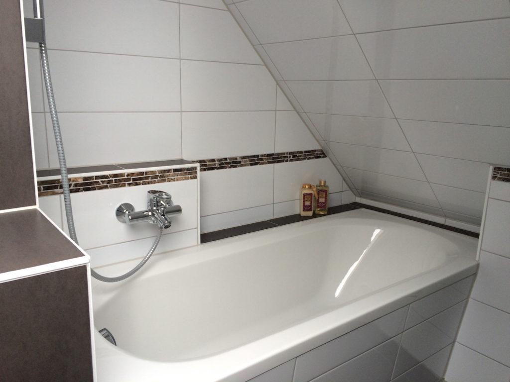 Das Badezimmer | Ferienwohnung Kiel Wik